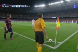 خلاصه بازی بارسلونا 2(5) - 0(1) پاریسن ژرمن؛ مرحله یک چهارم نهایی لیگ قهرمانان اروپا 2014/15