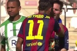 وقتی مسی در کورس آقای گلی پنالتیو میده نیمار بزنه