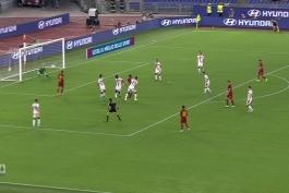 خلاصه بازی رم 3-3 جنوا (سری آ - 2019/20)