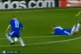 بازی های ماندگار/چلسی بایرن مونیخ یک چهارم نهایی لیگ قهرمانان اروپا سال 2005