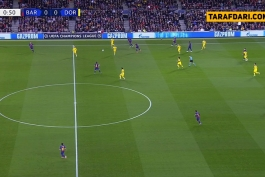 بارسلونا-دورتموند-لیگ قهرمانان اروپا-ورزشگاه نیوکمپ-barcelona-dortmund-ucl