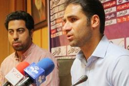 ابراهیم صادقی: با فولاد بازی کردیم، یکی از منظمترین و بهترین تیمهای لیگ؛ سایپا امروز خوب بازی کرد