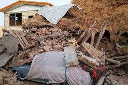 خرابی های زلزله-زلزله آذربایجان-iran