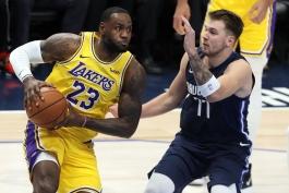 بسکتبال-دالاس موریکس-لس آنجلس لیکرز-NBA Basketball