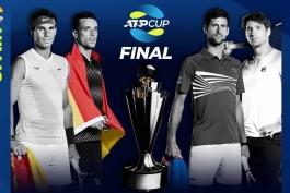 تنیس-صربستان-اسپانیا-ATP Cup-Tennis
