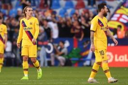 بارسلونا-لالیگا-بلیچر ریپورت