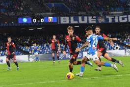 ناپولی 0-0 جنوا؛ تساوی ناامید کننده شاگردان آنچلوتی در خانه