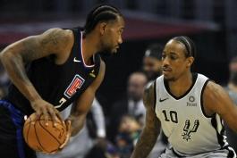 بسکتبال-لس آنجلس کلیپرز-سن آنتونیو اسپرز-NBA Basketball