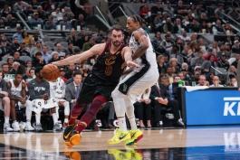 بسکتبال-سن آنتونیو اسپرز-کلیولند کاوالیرز-NBA Basketball
