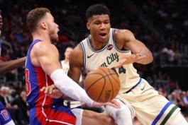 بسکتبال-دیترویت پیستونز-میلواکی باکس-NBA Basketball