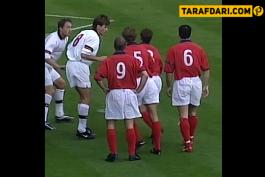 ویدیو؛ پلی به گذشته - پیروزی انگلیس مقابل بلژیک با سوپرگل های شیرر و ردنپ (1999)