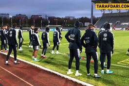 ویدیو؛ آخرین تمرین تیم ملی فرانسه پیش از جدال با ایسلند