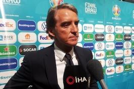 مانچینی: تمام حریفان در یورو 2020 سخت هستند؛ کارهای بسیار زیادی باقی مانده و باید پیشرفت کنیم