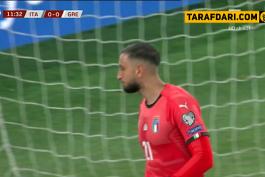 خلاصه بازی ایتالیا 2-0 یونان (مقدماتی یورو 2020)