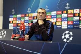 barcelona-سرمربی-اسپانیا-بارسلونا-لیگ قهرمانان اروپا-کنفرانس مطبوعاتی