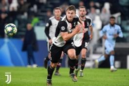 یوونتوس-مدافع یوونتوس-هلند-لیگ قهرمانان-Juventus