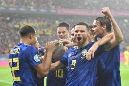 صعود سوئد به عنوان دوازدهمین تیم به یورو 2020 مسجل شد