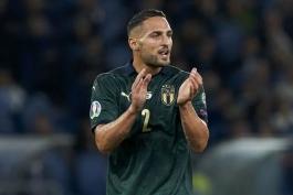 دی آمبروزیو پس از بازی ایتالیا-یونان: می ترسم از ناحیه انگشت کوچک پا، دچار شکستگی شده باشم