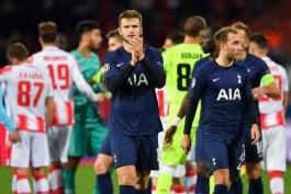 تاتنهام-اسپرز-لیگ قهرمانان اروپا-ستاره سرخ بلگراد-صربستان-Tottenham-Spurs-Champions League