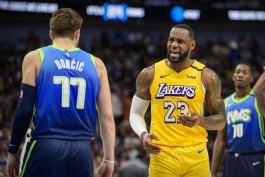 اخبار بسکتبال NBA - نتایج مسابقات NBA - هایلایت بازی های NBA - کنفرانس غرب NBA - لس آنجلس لیکرز - لبران جیمز