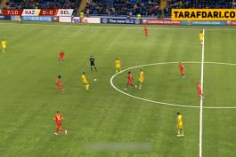 خلاصه بازی قزاقستان 0-2 بلژیک (مقدماتی یورو 2020)