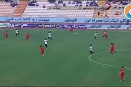 خلاصه بازی شاهین بوشهر 0-1 فولاد خوزستان (لیگ برتر ایران 98/99)