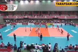 ایران-تونس-جام جهانی والیبال