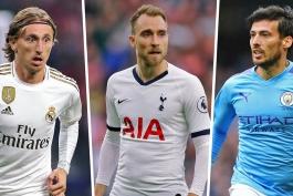ستاره هایی که در پایان فصل بازیکن آزاد خواهند بود