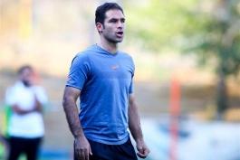 ابراهیم صادقی: باختیم اما خوب بازی کردیم؛ سایپا جوانترین تیم لیگ است