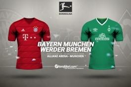 آلمان-ترکیب وردربرمن-بوندس لیگا-ترکیب بایرن مونیخ-Bayern Munich