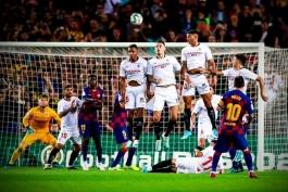 بارسلونا - لالیگا - ضربه آزاد - گلزنی مقابل سویا