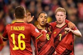 بلژیک دومین خط حمله برتر تاریخ مسابقات مقدماتی یورو را به نام خود ثبت کرد