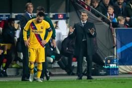 بارسلونا - لیگ قهرمانان اروپا - دیدار مقابل اسلاویا پراگ
