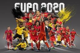 صعود بلژیک به رقابت های یورو 2020 بعد از پیروزی 9-0 مقابل سن مارینو مسجل شد