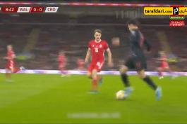 خلاصه بازی ولز 1-1 کرواسی (مقدماتی یورو 2020)