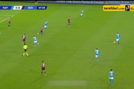 خلاصه بازی ناپولی 0-0 جنوا (سری آ - 2019/20)