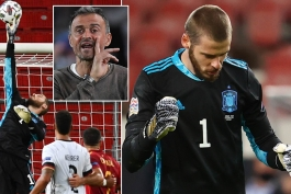 اسپانیا / منچستریونایتد / لیگ ملت های اروپا / Euro League / Spain / Manchester United