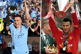 منچسترسیتی / لیگ برتر / سیتیزن ها / Manchester United / Manchester City / England / Wales