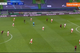 لایپزیش / اتلتیکو مادرید / لیگ قهرمانان اروپا / Leipzig / Atletico Madrid / ucl