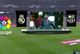 رئال مادرید-بارسلونا-لالیگا-اسپانیا-ال کلاسیکو-ورزشگاه سانتیاگو برنابئو-real madrid-barcelona-la liga