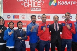 کاراته-ایران-المپیک-  Karate-iran -olympic