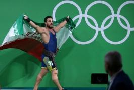 تیم ملی وزنه برداری-ایران-iran weightlifting national team