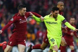 لیورپول- بارسلونا- لیگ قهرمانان اروپا- اروپا- Liverpool- Barcelona- آنفیلد- Anfield