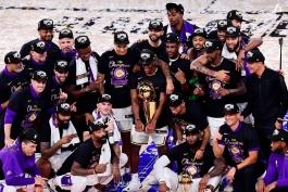 هفدهمین قهرمانی لس آنجلس لیکرز در NBA / گزارش تصویری