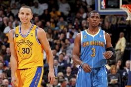 بسکتبال-گلدن استیت وریرز-کلی تامپسن-NBA Basketball
