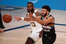بسکتبال / دنور ناگتس 114-106 لس آنجلس لیکرز /  NBA Basketball
