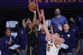 بسکتبال / لس آنجلس لیکرز / دنور ناگتس / NBA Basketball