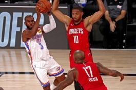 بسکتبال / هیوستون راکتس / اوکلاهاما سیتی تاندر / NBA Basketball