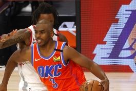 بسکتبال / اوکلاهاما سیتی تاندر / هیوستون راکتس / NBA Basketball