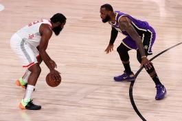 بسکتبال / لس آنجلس لیکرز / هیوستون راکتس / NBA Basketball